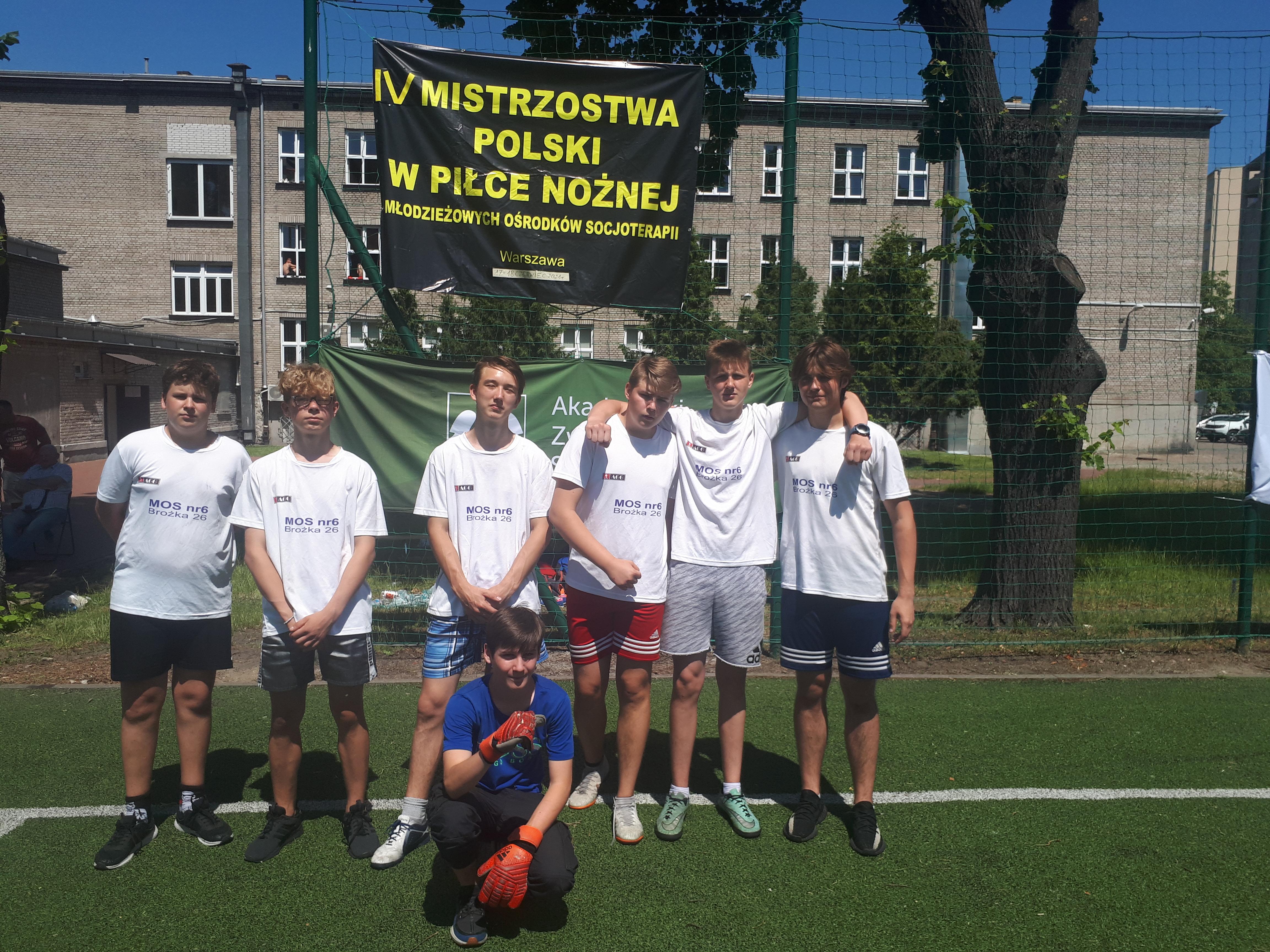 Mistrzostwa Polski Młodzieżowych Ośrodków Socjoterapii w Piłce Nożnej